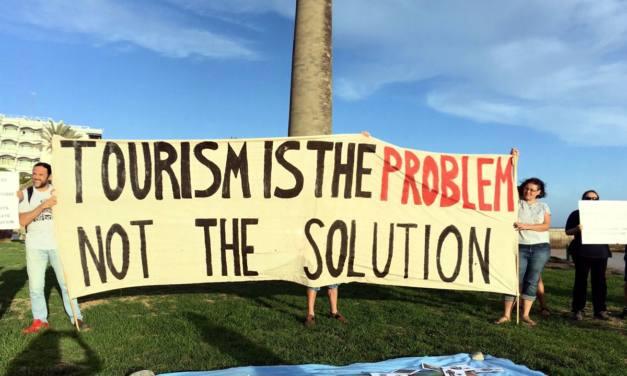 El turismo es el problema, no la solución