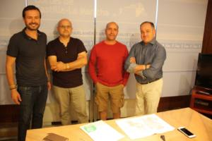 Reunión con el grupo socialista en las Cortes Regionales