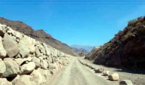 Denuncian ante el Seprona las obras en el cauce público del Barranco de Veneguera