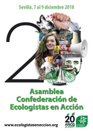 Ecologistas en Acción celebra sus 20 años en Sevilla
