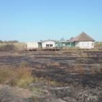 Solidaridad por el incendio ocasionado en el centro de El Camaleón