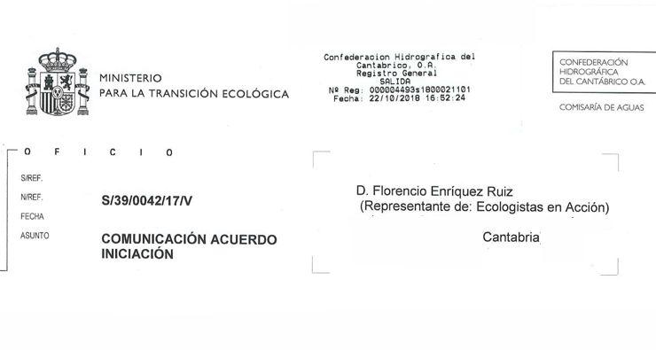 Expediente sancionador al Ayuntamiento de Reocín