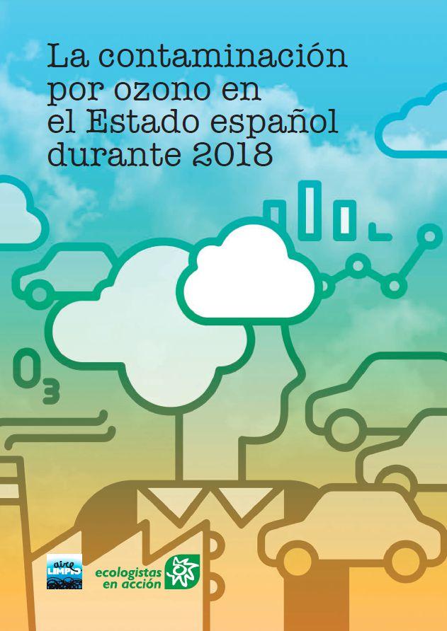 [Informe] La contaminación por ozono en el Estado español durante 2018