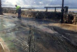 Nuevo vertido de fecales en la playa de Los Lances en Tarifa