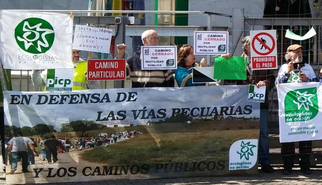 Denuncian en el Parlamento Europeo la usurpación de caminos públicos en Andalucía