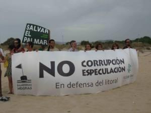 Recurrirán ante los tribunales el proyecto hotelero de El Palmar