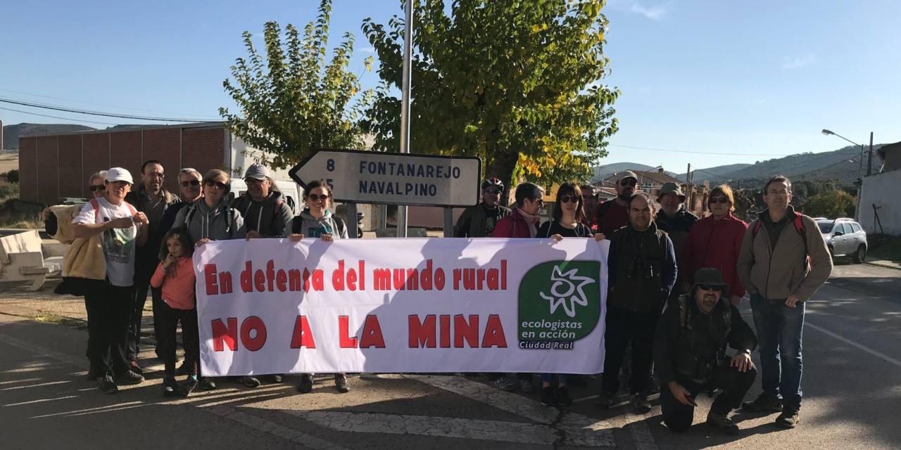 Califican de fraude la DIA de la mina de Fontanarejo