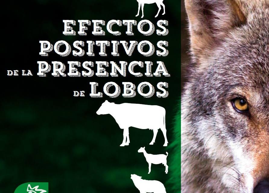 [Diptico] Efectos positivos de la presencia de lobos