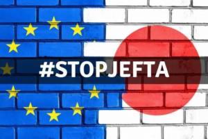 Paremos el Acuerdo UE-Japón