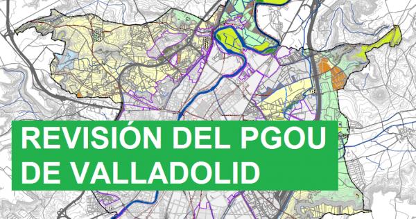 Piden que se amplíe el nuevo periodo de exposición pública de la Revisión del PGOU de Valladolid
