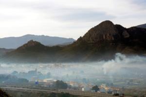 Contaminación por quemas agrícolas en Murcia
