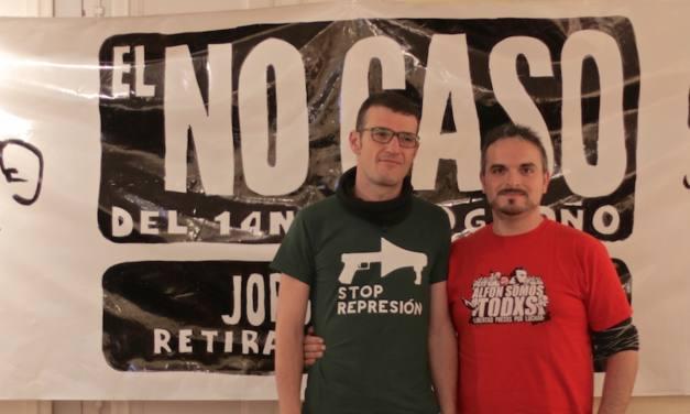 Apoyo a Pablo y Jorge en el No caso del 14N