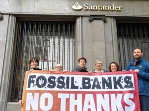 Las nuevas políticas del Banco Santander respecto al carbón siguen siendo insuficiente