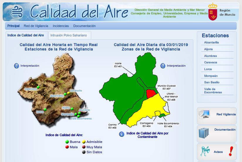 Demandan medidas eficaces de lucha contra la contaminación atmosférica en Murcia