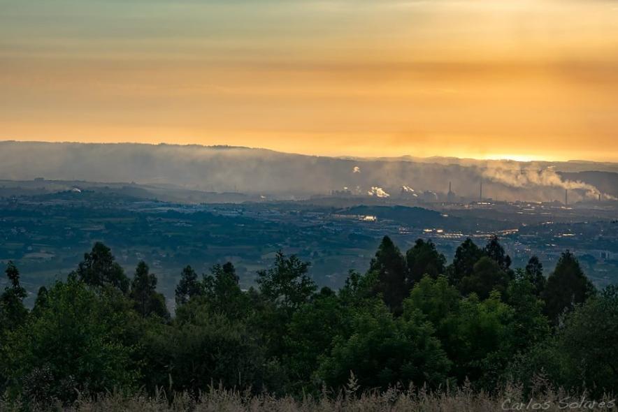 Calidad del aire en Asturies 2018