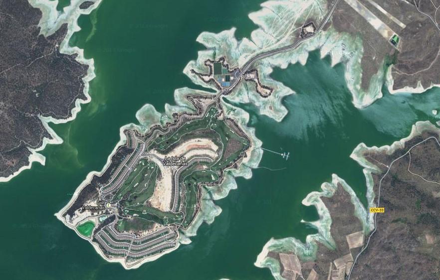 El futuro de la Urbanización Isla Valdecañas sólo pasa su desmantelamiento