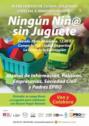 Encuentro solidario Ningún niñ@ sin juguete