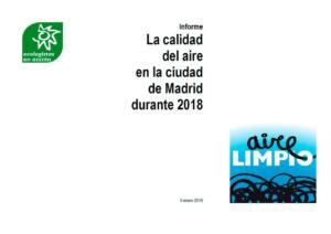 2018: la contaminación da un respiro a Madrid