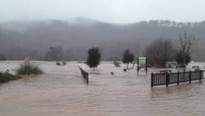 Las inundaciones en Cantabria