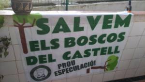 L'Ajuntament de Castelldefels, i els interessos especulatius al Turó del Castell