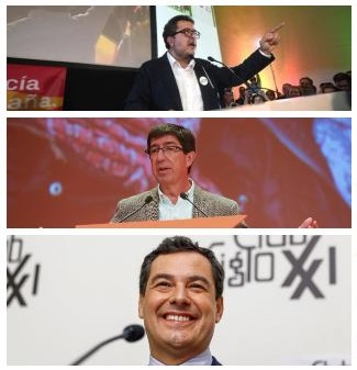 Posición ante los pactos por el gobierno andaluz