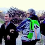 Impiden de forma violenta la marcha por el sendero del Salto del Cabrero