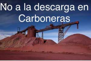 Carboneras en contra del mineral de hierro de las minas de Alquife