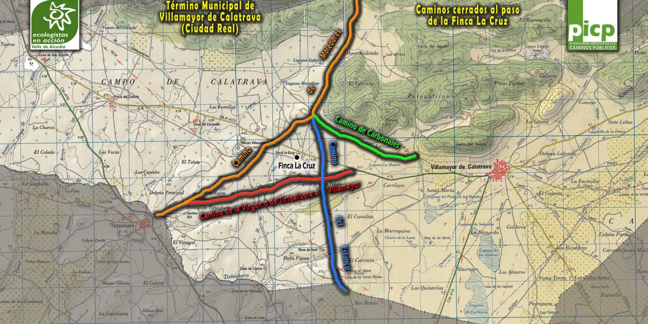 Apoyan al Ayuntamiento de Villamayor en la defensa de sus caminos públicos