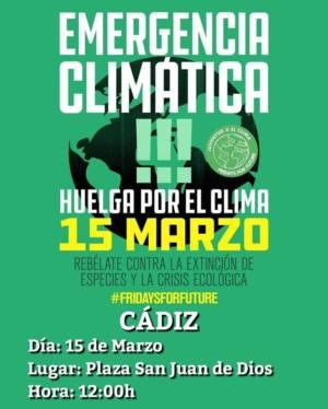 Apoyamos con ilusión las movilizaciones de jóvenes en defensa del clima