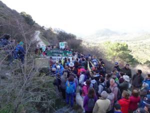 Denuncian a los responsables de impedir la marcha por el sendero del Salto del Cabrero