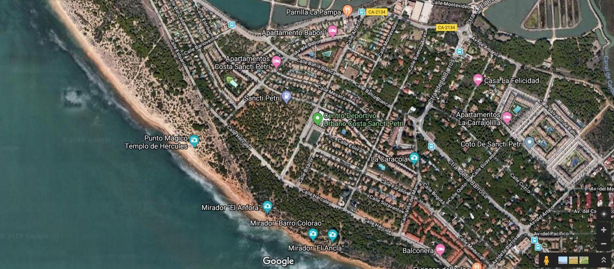 Solicitan la personación en el proyecto de urbanización de Sancti Petri