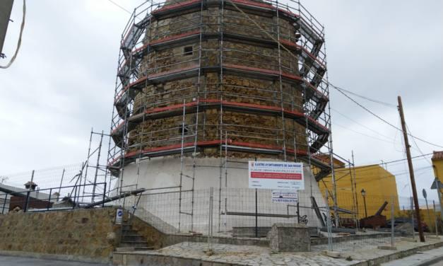 Chapuza en la restauración de la Torre Nueva de Torreguadiaro