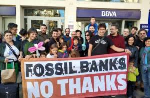 El BBVA, uno de los bancos que más contribuye al cambio climático