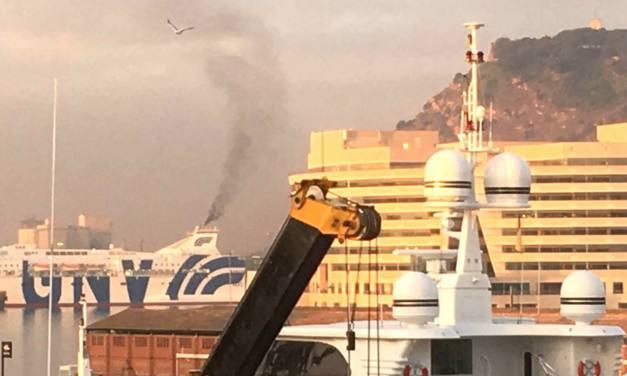 La contaminación del aire de los barcos en el mar Mediterráneo podría reducirse un 50% y se evitarían 6.000 muertes prematuras anuales