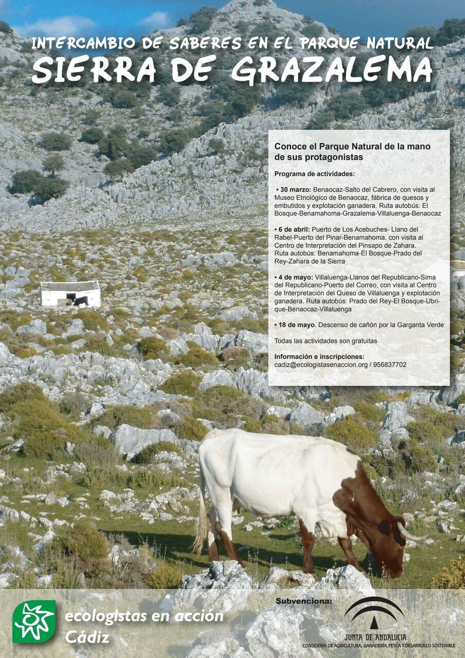 Cadiz Intercambio De Saberes En El Parque Natural Sierra De Grazalema Ecologistas En Accion