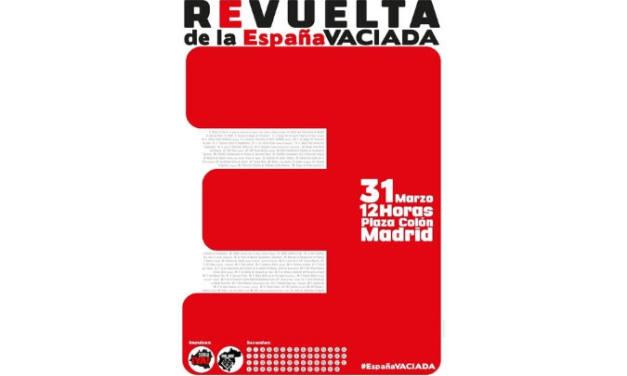 Apoyo a la manifestación La revuelta de la España vaciada