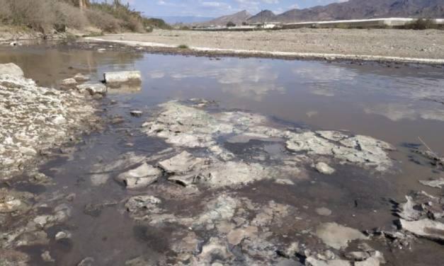 Llevan a la Fiscalía los vertidos de la Cítrica al cauce del río Andarax