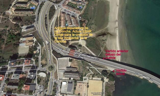 Vertidos fecales muy cuantiosos desde la EBAR de la Concha a la Bahía de Algeciras