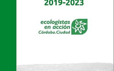 Presentan el documento Por una Córdoba Sostenible