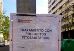 El Ayuntamiento de Logroño vuelve a usar glifosato