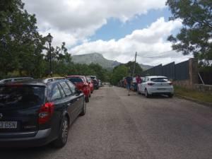 Preocupación por la avalancha de personas que ha soportado la Sierra de Guadarrama