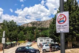 Otro fin de semana de avalanchas y de caos en el medio natural de la Comunidad de Madrid
